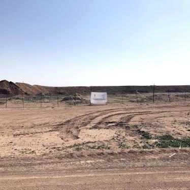 Irak : L'EI a enseveli des centaines de corps dans un charnier