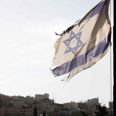 Submission for the Universal Periodic Review of Israel