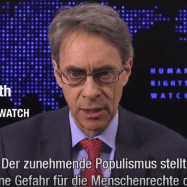 Weltbericht 2017: Kenneth Roth, Geschäftsführer
