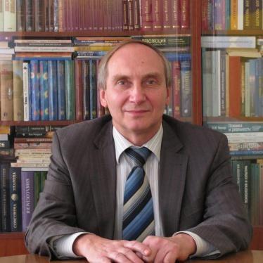 Ukraine: Prison Sentence for Academic in Separatist Region