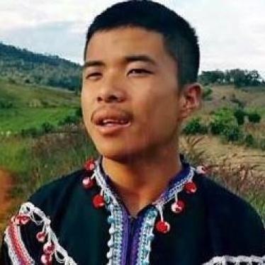 ประเทศไทย:ให้สอบสวนกรณีที่ทหารสังหารเยาวชนที่เป็นนักกิจกรรม
