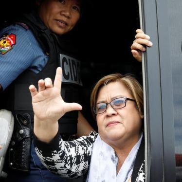 Philippines Slammed for Senator's Politically Motivated Prosecution