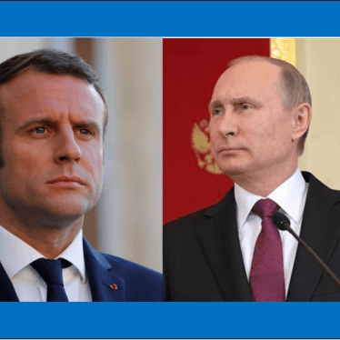 France : Rencontre du président Macron avec le président russe Poutine