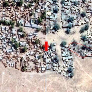 Nigeria : Des images satellite montrent les effets de frappes aériennes sur un camp de déplacés
