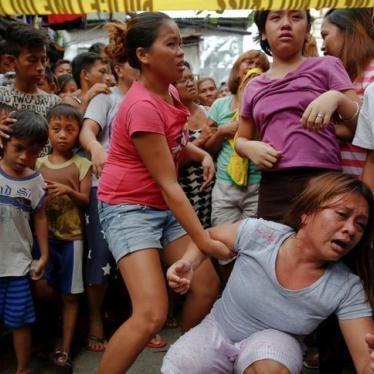 Pilipinas: Dapat Batikusin ng Mga Miyembro ng UN sa Mga Pagpatay, Pang-Abuso
