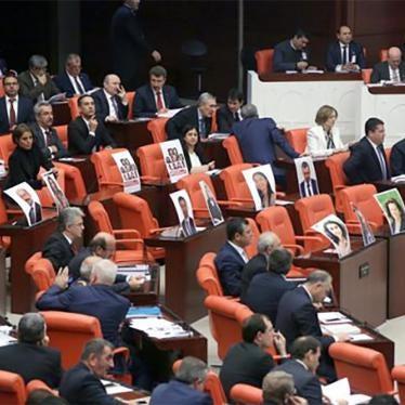 Turquie : Répression à l'encontre de l'opposition kurde