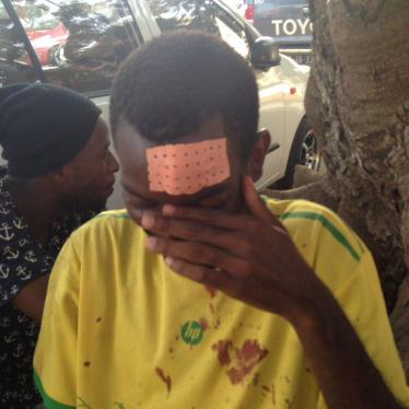 Angola: Police Beat, Set Dogs on Peaceful Protesters