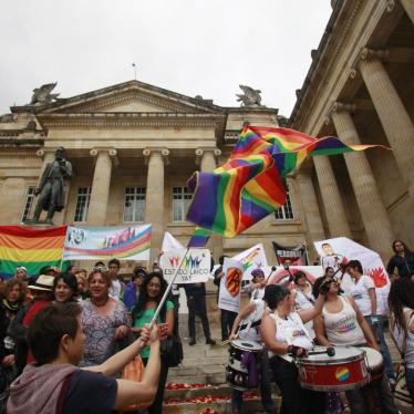 Colombia: Reject Referendum on Rights of LGBT People