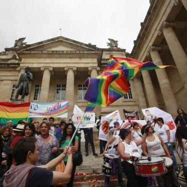 Colombia debe rechazar referendo sobre derechos de personas LGBT