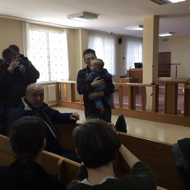 Belarus: Opposition Figure Jailed, Beaten
