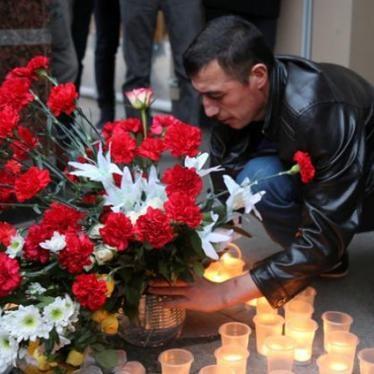 Sickening Bombing in St Petersburg Metro