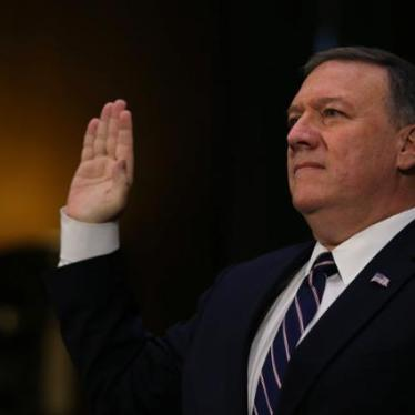 US: Reject Pompeo for CIA Director