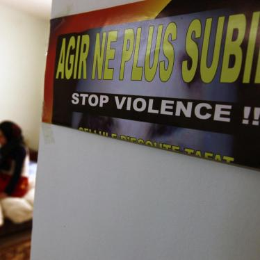 Algeria: Inadequate Response to Domestic Violence