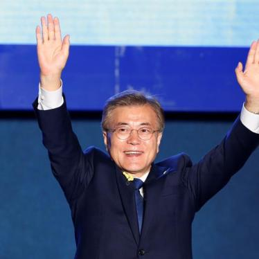 South Korea: Moon Should Uphold Rights at Home and Abroad