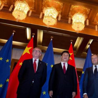 China: EU Summit Should Make Rights A Priority