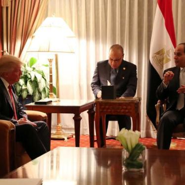 Sisi-Trump Meeting Shows Mutual Contempt for Rights