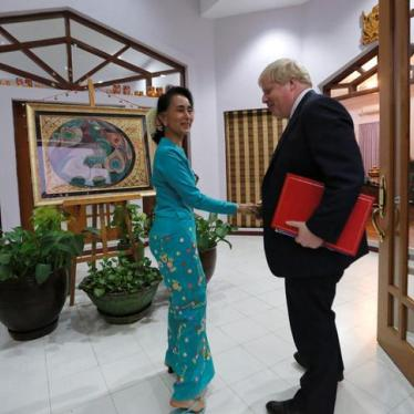 Britain Needs to Find its Backbone Over Burma