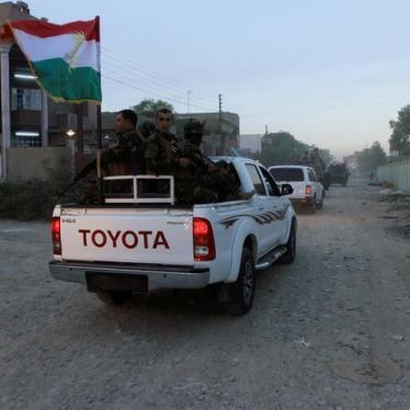 Iraq: Kirkuk Security Forces Expel Displaced Turkmen