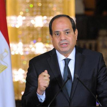 'We need to talk' about al-Sisi's Twisted Take on Human Rights