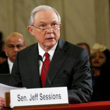 US: Don't Confirm Sessions as Attorney General