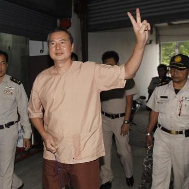 Thailand: Quash Editor's Conviction for 'Insulting Monarchy'