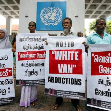 Sri Lanka: Adopt Task Force's Justice Proposals