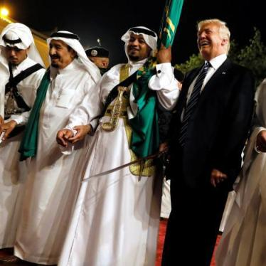 Trump Bows And Sells Weapons In Saudi Arabia: HRW Daily Brief