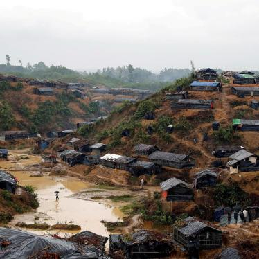 A Rohingya refugee camp in Cox's Bazar, Bangladesh, September 19, 2017.