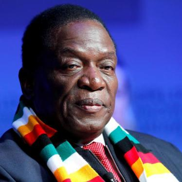 Zimbabwe's President Emmerson Mnangagwa attends the World Economic Forum (WEF) annual meeting in Davos, Switzerland January 24, 2018.