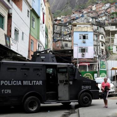 Brazil: Police Abuse Unabated