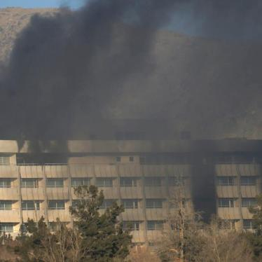 Kabul Hotel Attack a War Crime