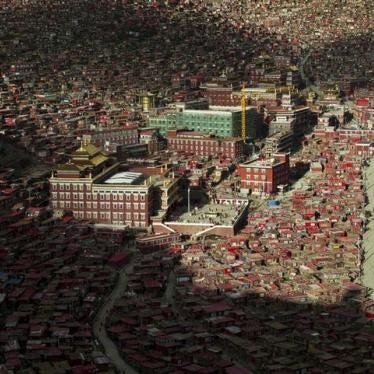 China: New Controls on Tibetan Monastery