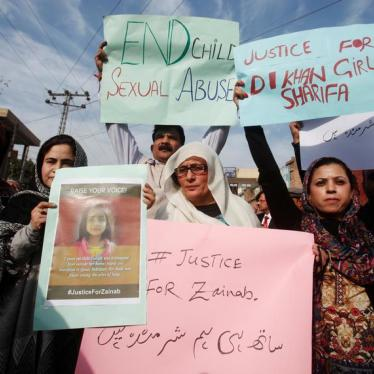 Pakistan Needs to Protect Children from Sexual Abuse