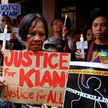 Philippines: Endorse UN Inquiry into 'Drug War' Killings