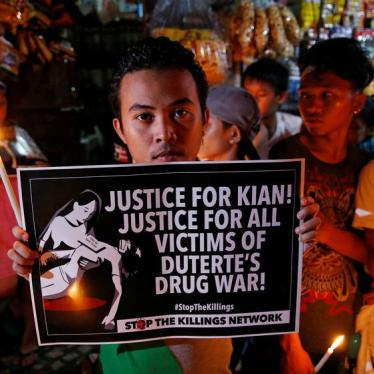 A Whisper of Accountability in Philippine 'Drug War'