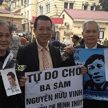 Việt Nam: Hãy hủy bỏ cáo buộc và phóng thích các nhà hoạt động dân chủ