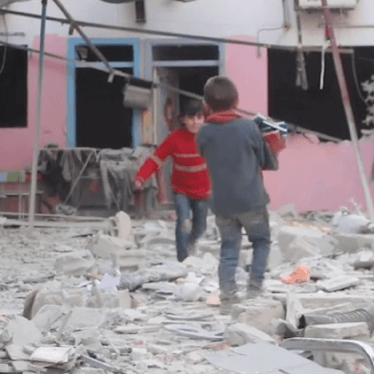 Syria: Children Under Attack in Damascus Enclave