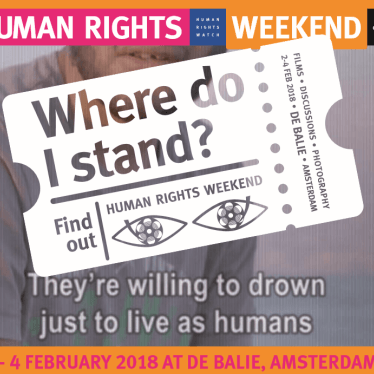 Human Rights Weekend Amsterdam: 'Where Do I Stand?'