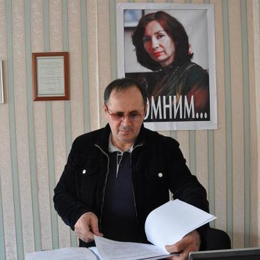 Russia: Rights Defender Arbitrarily Arrested in Chechnya