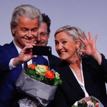 Le climat d'intolérance en Europe