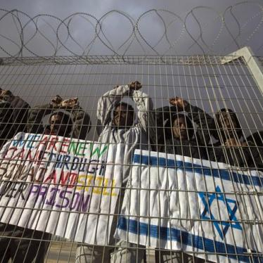 Israel: Don't Lock Up Asylum Seekers