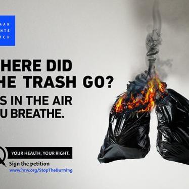 Lebanon: Campaign to End Waste Crisis