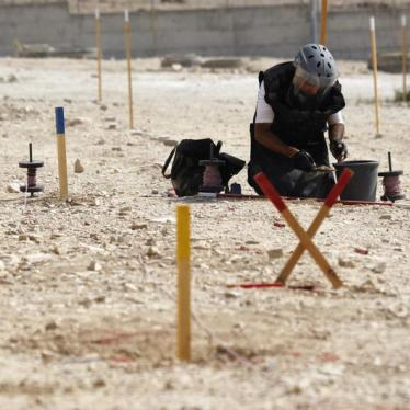 Palestine Joins Global Push to Eliminate Landmines