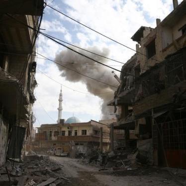 سوريا/روسيا: تقاعس دولي بينما يقتل المدنيون