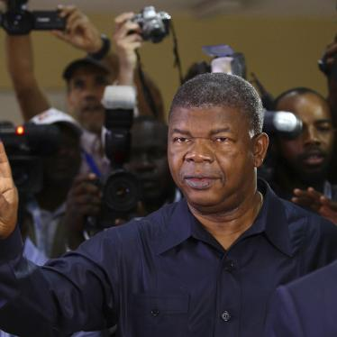 Carta ao Presidente da República de Angola, S.E. João Lourenço