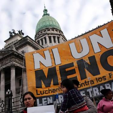 Argentina Should Decriminalize Abortion