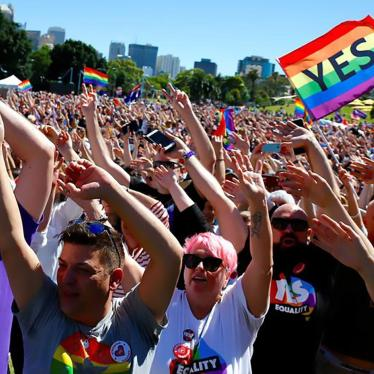 Australia: Gains on Marriage Equality, Child Rights