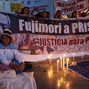 Perú debería revocar el indulto a Fujimori
