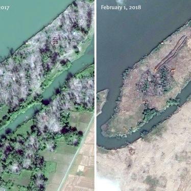 缅甸:大量罗兴亚村落遭铲平
