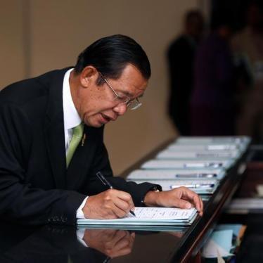 Cambodia: Legislating New Tools of Repression